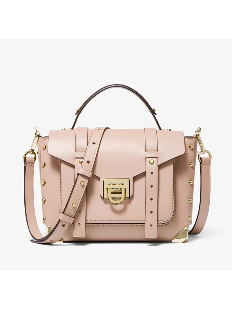 MICHAEL Michael Kors Manhattan Medium Leather Satchel Pink