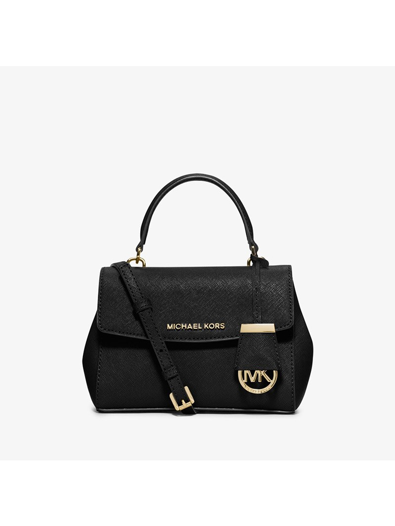 MICHAEL Michael Kors Ava Extra-Small Saffiano Leather Crossbody Black