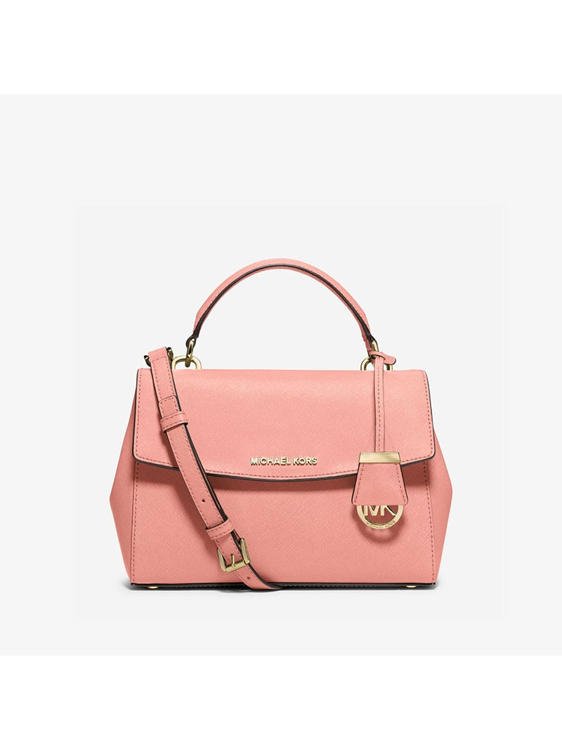 MICHAEL Michael Kors Ava Small Saffiano Leather Satchel Pink