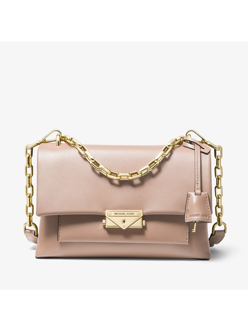 MICHAEL Michael Kors Cece Medium Leather Shoulder Bag Pink