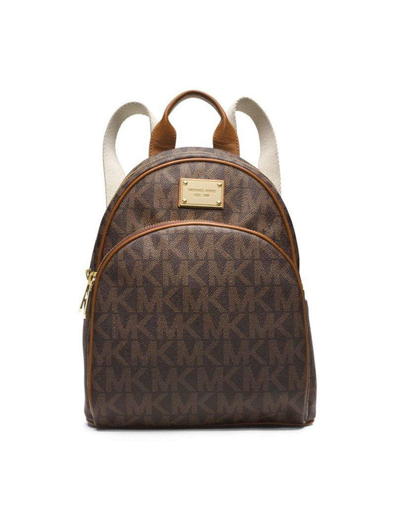 MICHAEL Michael Kors Jet Set Travel Logo Small Backpack Coffee