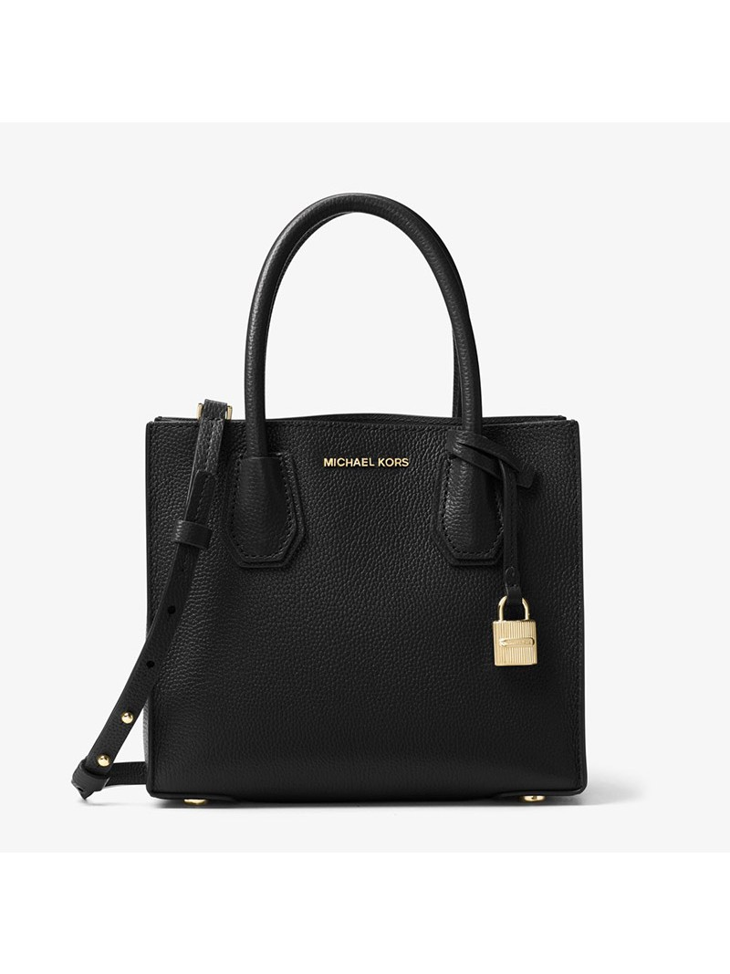 MICHAEL Michael Kors Mercer Leather Tote Black
