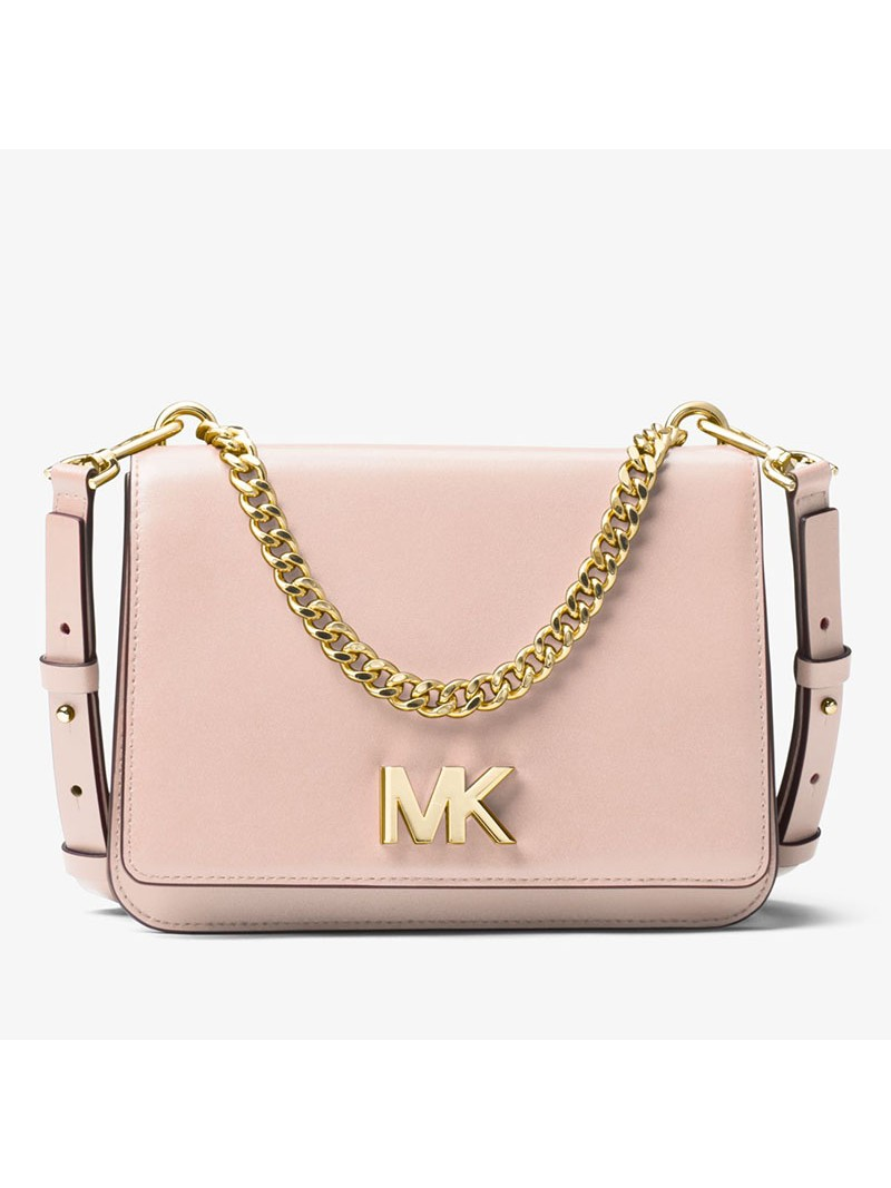 MICHAEL Michael Kors Mott Leather Crossbody Pink