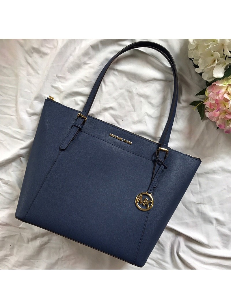MICHAEL Michael Kors Voyager Large Tote Blue